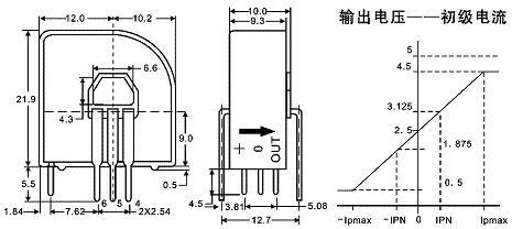 hba-np霍尔电流传感器