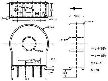 hba-yp霍尔电流传感器