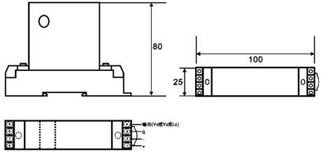 直流电流变送器的接线图-产品知识-华智兴远